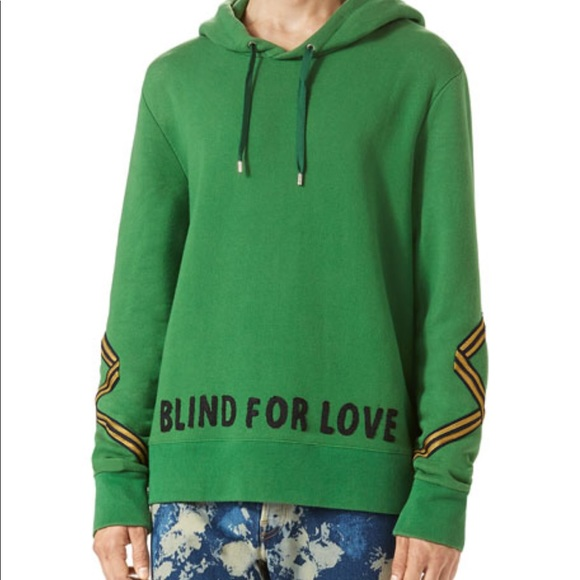 815bf7817b4 Gucci Other - Gucci Mens Hoodie (BLIND IS LOVE)